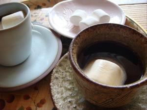 コーヒーにマシュマロを!一の坊流のいただき方!
