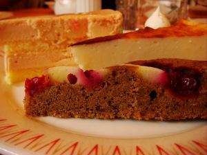 フランボワーズやチーズケーキも‥